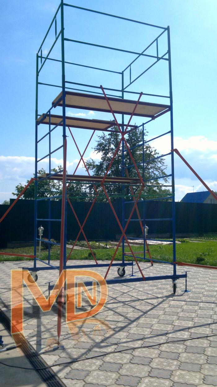 ГИГАНТ - Строительная вышка с высотой установки до 22 метров