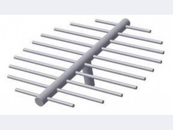 Щелеванные трубы (НРУ) для фильтров ФИПа,ФОВ, колпачки щелевые