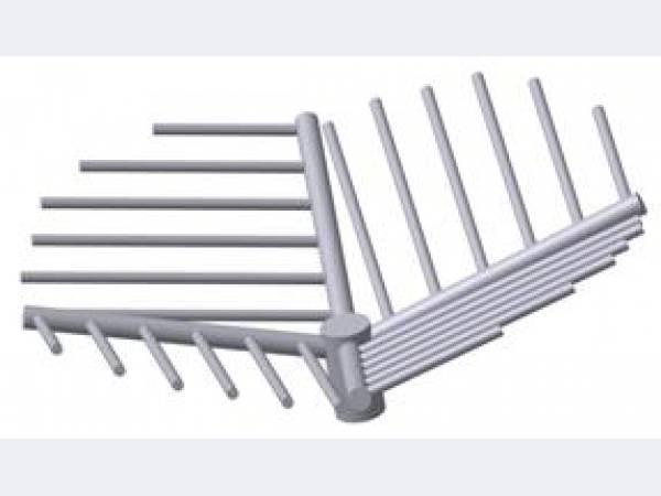 Трубы-лучи щелевого типа для фильтров ФИПа,ФОВ
