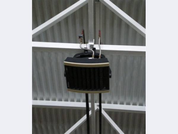Гибкие подводки для подключения тепловых завес и калориферов отопления