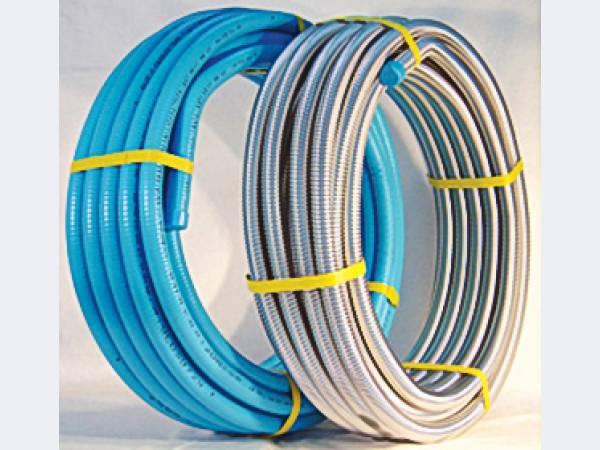 Труба гофрированная Lavita для воды, пара и газа