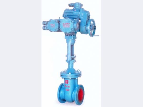 Клапан запорный возможно исполнение под электропривод