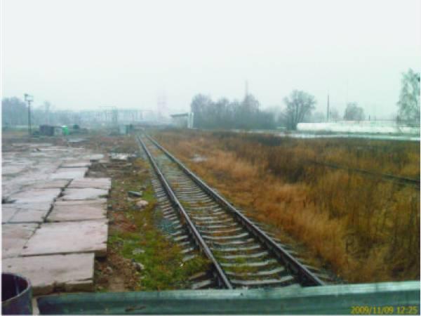 """Сдаем в аренду железнодорожный тупик на станции  """"Аэропорт """", около аэропорта  """"Внуково """", с прилегающей территорией..."""