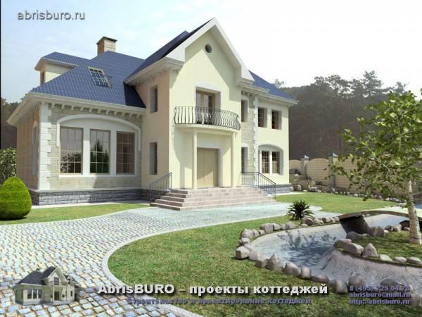 Проекты домов из кирпича и газобетона