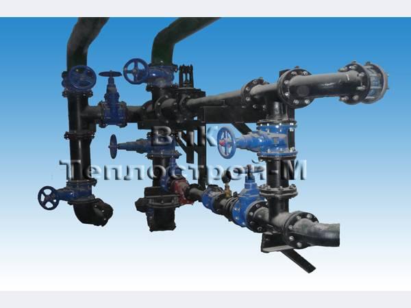 1. Подготовка всей необходимой документации для монтажа водомерных узлов;Монтаж водомернного узла учета холодной воды...