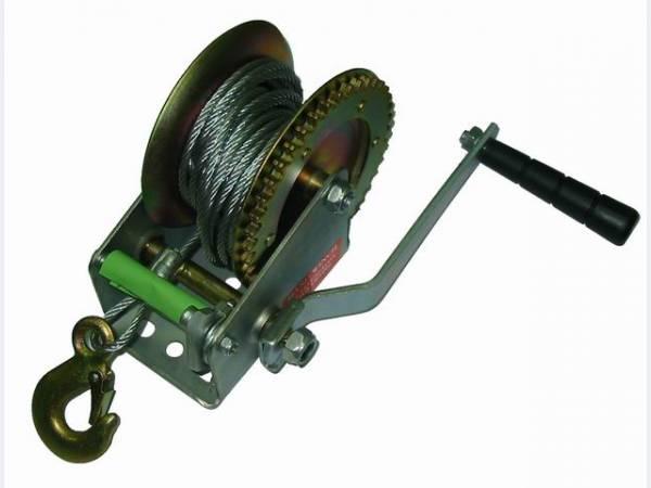 Лебедка ручная барабанная 450кг усиленная  SKRAB   Арт.26450