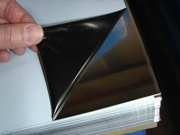 Зеркальный лист из нержавеющей стали