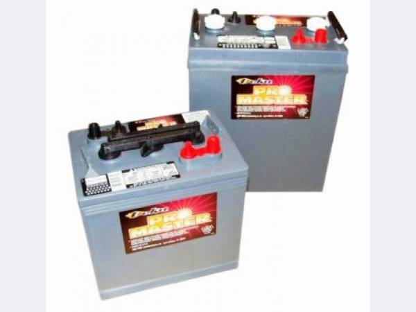 Тяговые аккумуляторные батареи 6V