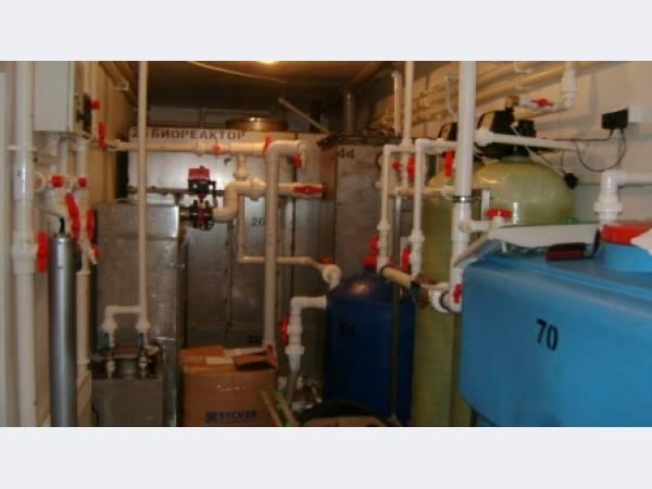 Блочно-модульные установки очистки хоз-бытовых сточных вод