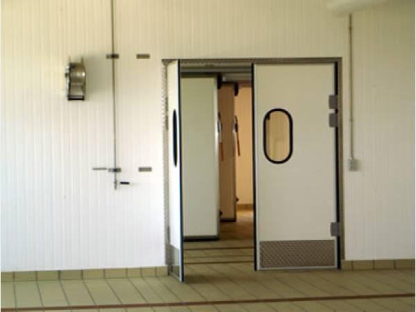 двери металлические для промышленных помещений