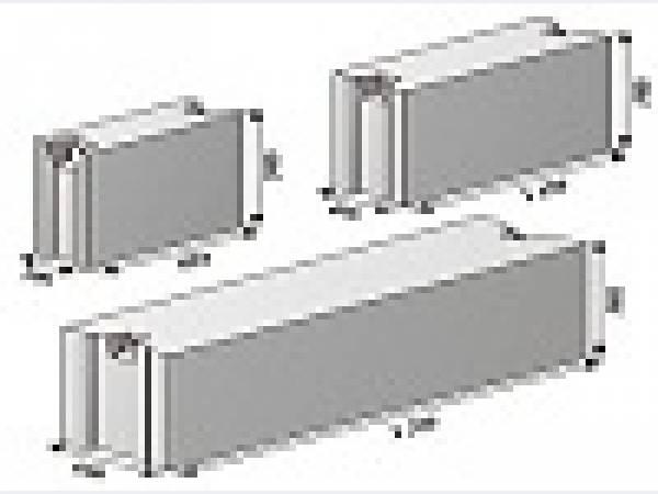 Блоки фундаментные в ассортименте.