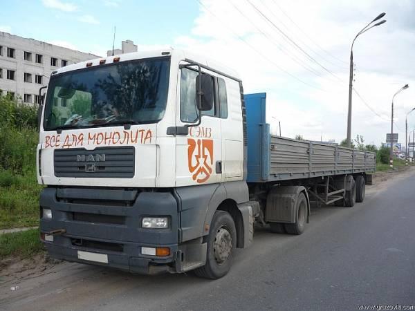 Грузоперевозки от 1 до 20 тонн по Нижнему Новгороду, области,  России.