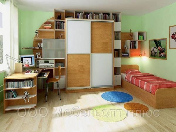 Изготовление мебели на заказ для детской комнаты по доступным ценам.Формирование цены мебели зависит от применяемых