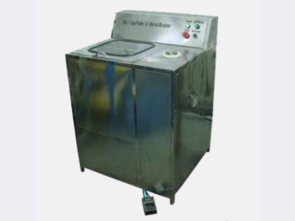 Мойка тары и удаления крышек BS-1, 19 л, до 100 бут/час - фото Полуавтоматическая машина БС-1 для мойки бутылей и удаления пробок