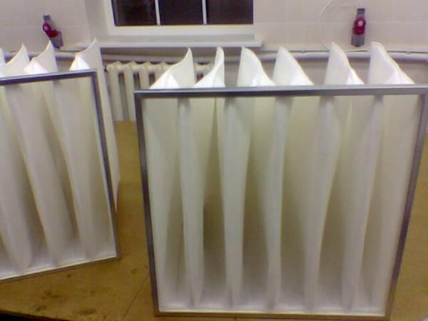 Фильтрующие установки для очистки воздуха. фильтры.