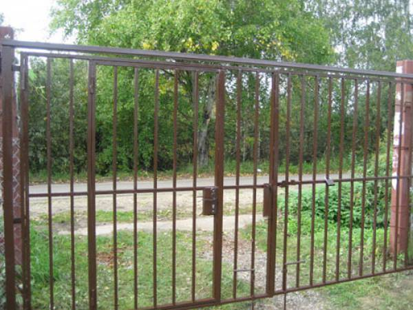 Строительство забора, ворота,навес,металлоизделия