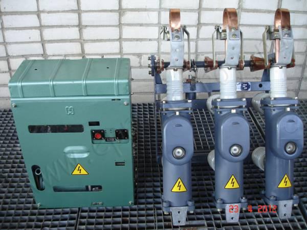 Продаю масляный выключатель ВПМП-10-630 с приводом ППО-10