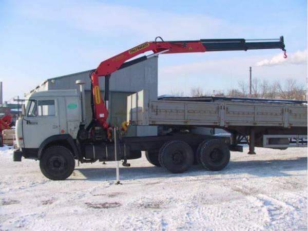 Аренда манипулятора 5 и  10 тонн
