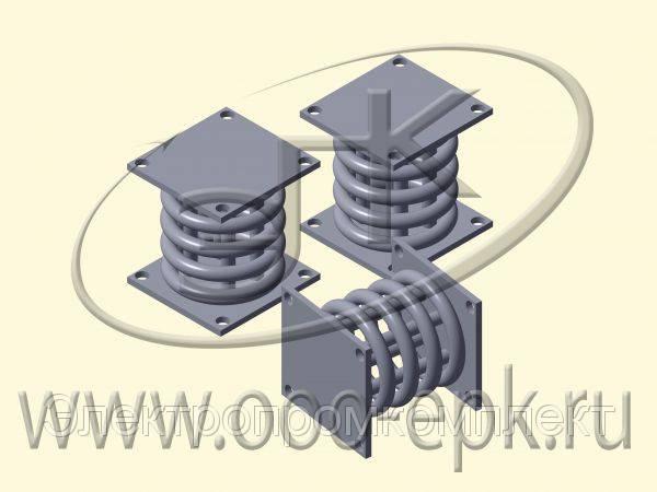 Блоки пружинные, ОСТ 108.275.60-80, ОСТ 24.125.166-01, ОСТ 34.10.743-