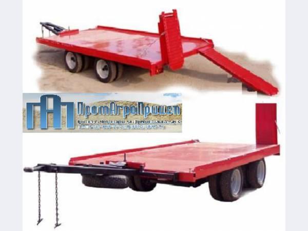 Прицеп эвакуатор для перевозки техники до 6 тонн