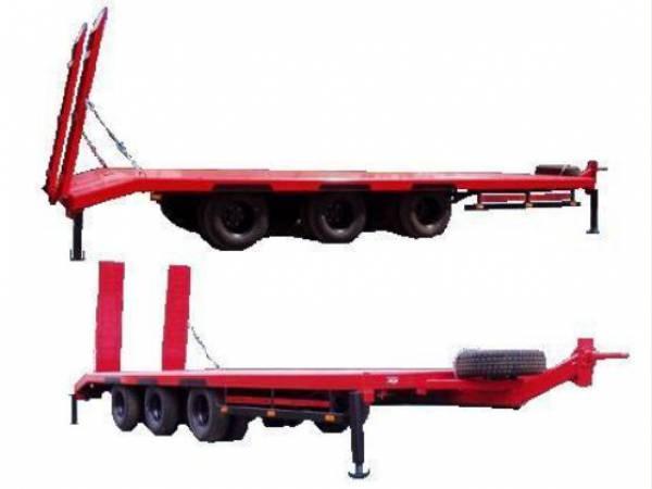 Низкорамный прицеп для перевозки ГНБ и оборудования