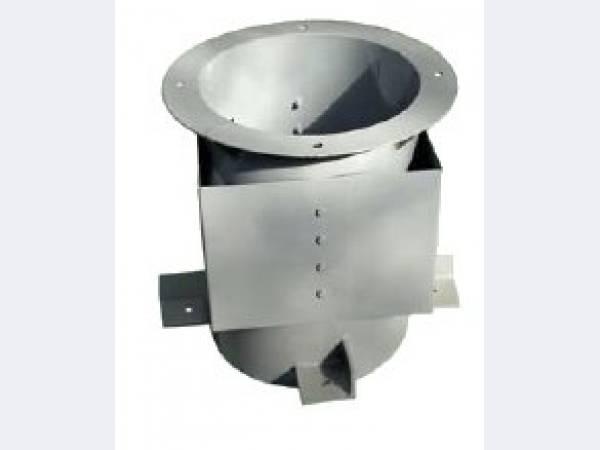 Стальные стаканы для крепления вентиляторов, дефлекторов и зонтов