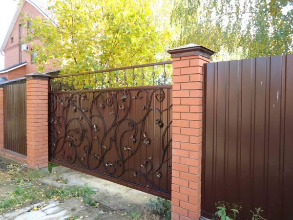 Забор, ворота, навес, металлоизделия