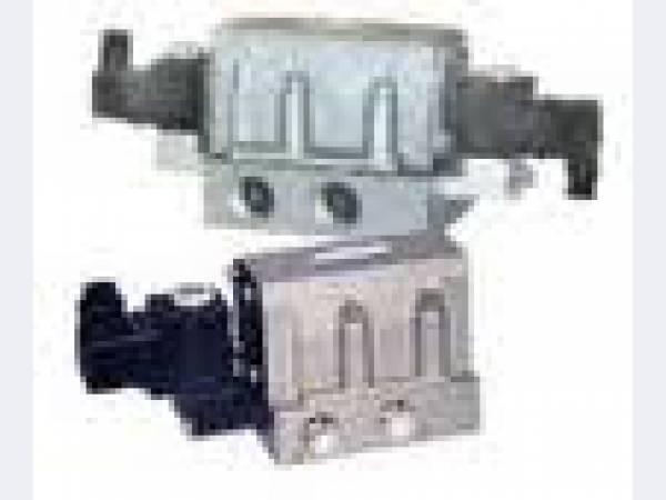 Клапан электромагнитный распределитель пневматический, пр-ва Семеновский АЗ