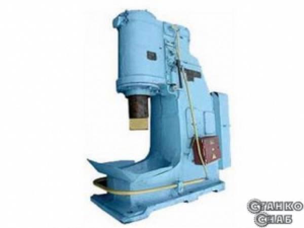 Молот ковочный пневматический МА4132, м.п.ч. 160 кг