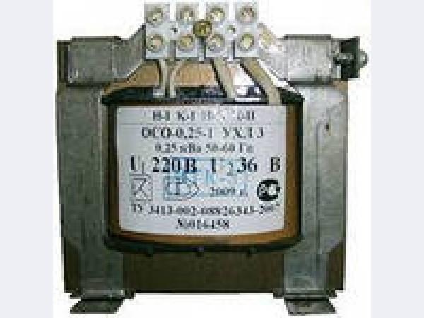 Однофазные сухие осветительные трансформаторы (ОСО - 0,25/0,4)предназначены для питания пониженным и безопасным...
