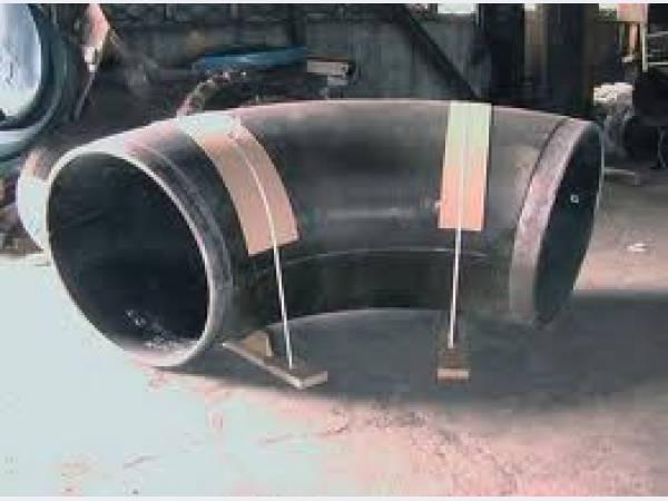 Отвод крутоизогнутый 90 гр с внутренним полимерным покрытием