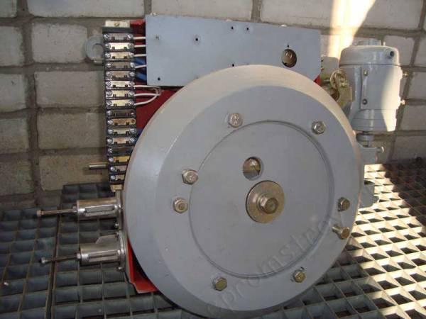 Привод пружинный типа ПП-61