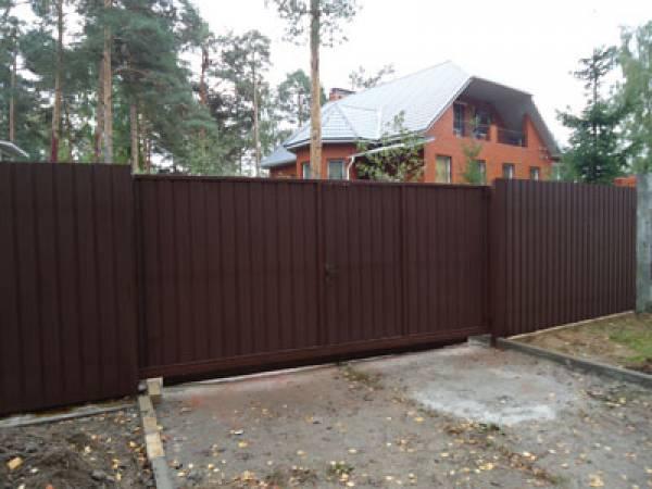 Заборы, ворота,навесы,строительство
