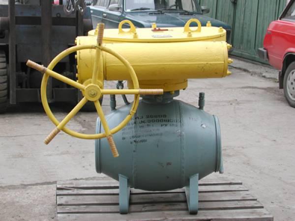 Краны шаровые DN от 25 до 1400 мм Ру от 1.6 до 16.0 МПа