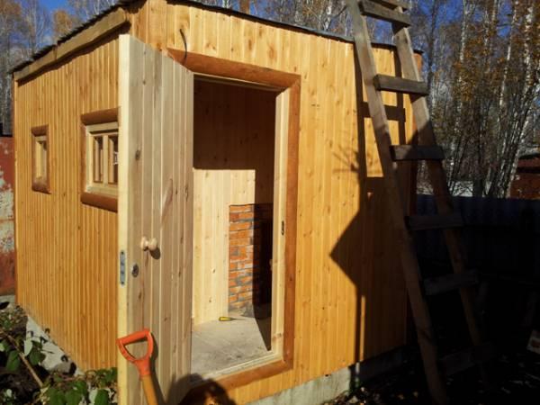 Строительство бань под ключ, каркасно-щитовых домов, бытовок Челябинск
