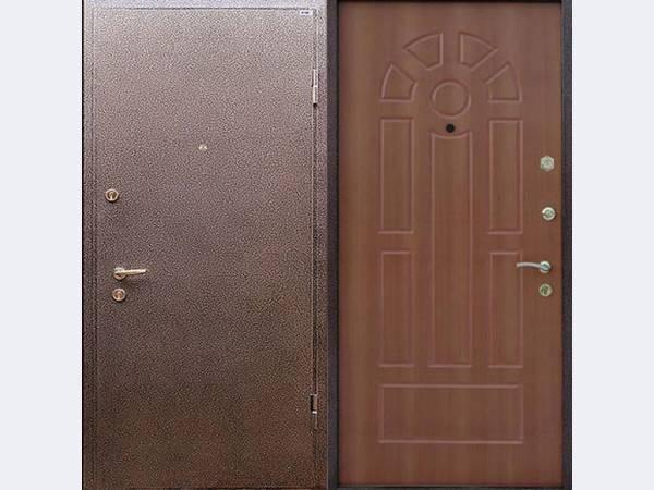 садовая дверь железная