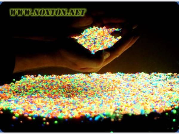 Светящийся песок своими руками за 20 минут