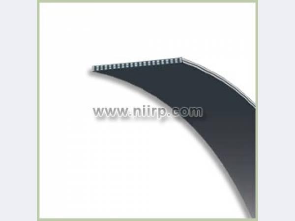Ремни плоские резинотканевые бесконечные гладкие