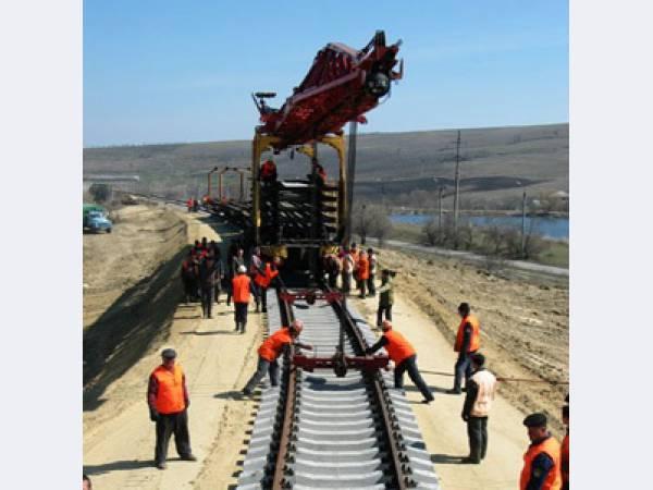 Строительство, ремонт, текущее обслуживание железнодорожных и крановых