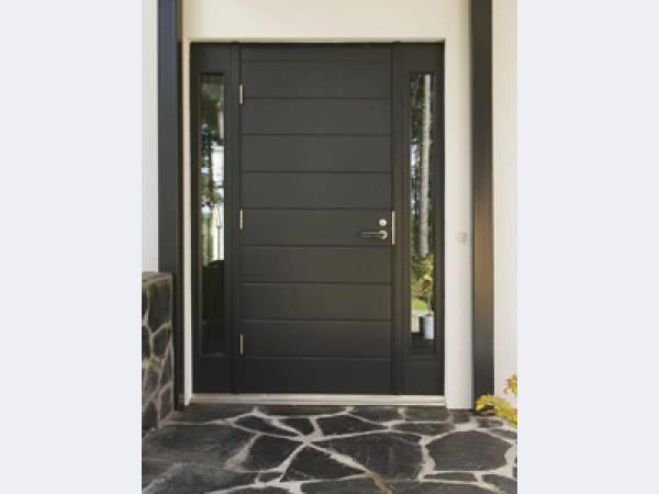 стильные входные двери белые