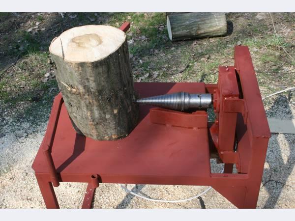 колун для дров винтовой чертеж