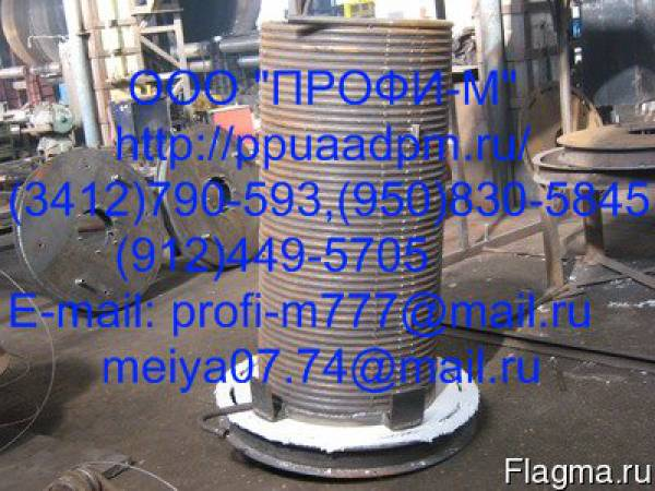 Змеевик наружный котла установки АДПМ-12/150, запчасти котла АДПМ-12