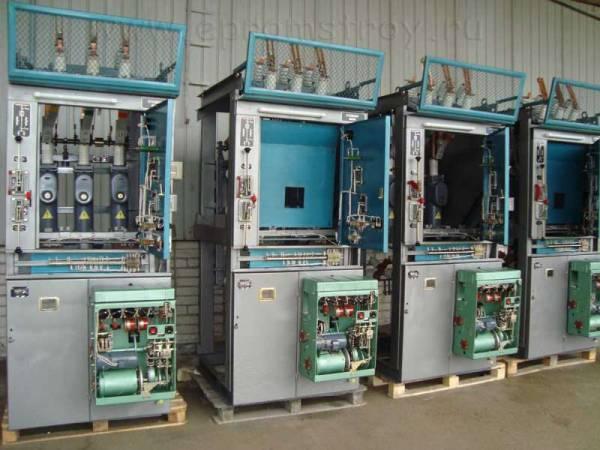 Ячейки КСО-285 с масляным выключателем ВПМП-10 и приводом ППО-10.  Комплектация согласно схеме...  Продам.