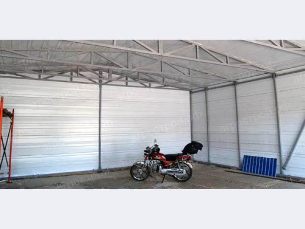Готовые проекты каркасных гаражей