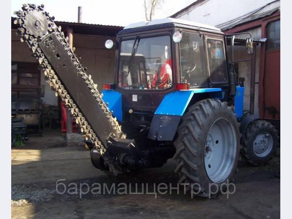 ЭЦУ-150 с зимним рабочим органом