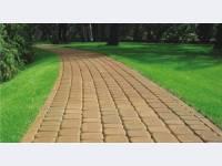 Тротуарная плитка брук одинарный / двойной