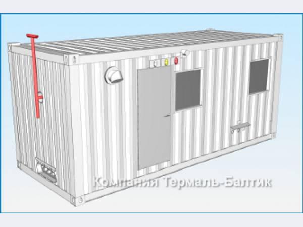 модульная котельная контейнерного типа мэк 8000 4