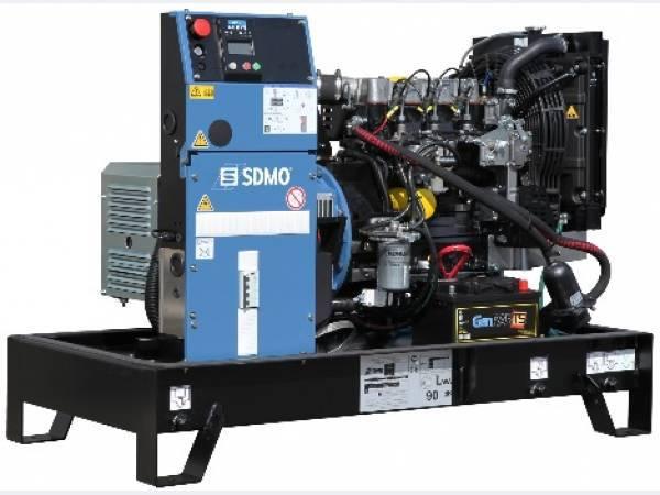 Дизельные генераторы SDMO серии ADRIATIC (Франция)