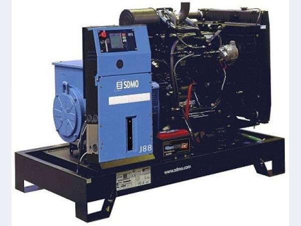 Дизельные генераторы SDMO серии MONTANA (Франция)