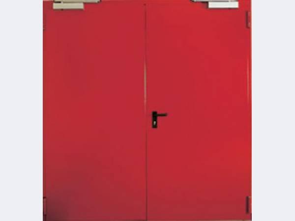 Противопожарные люки и двери